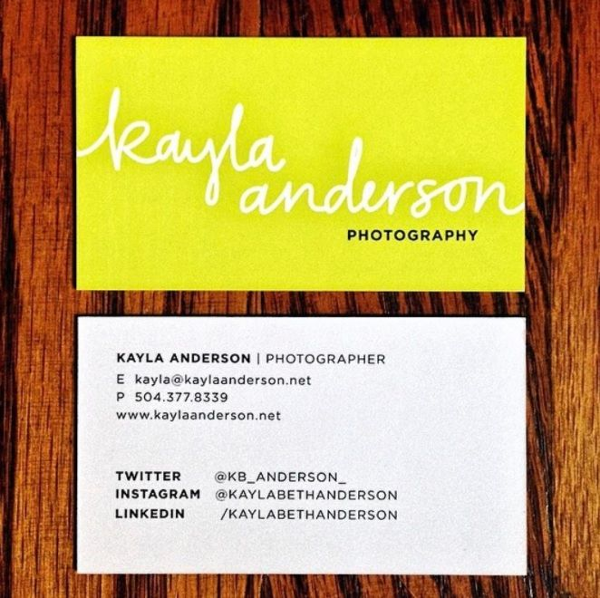 Kayla is a fantastic photographer and storyteller from New Orleans that was seeking to buy business cards at a competitive price. She ordered from us and now is excited to take her business to another level!