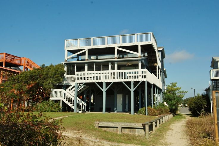 Isle a While - House   Oceanfront Sunset Beach NC Rentals