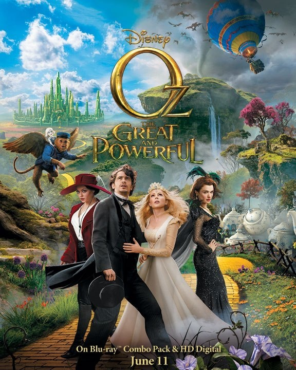 Oz The Great and Powerful is now available on Blu-ray Combo Pack and HD Digital! Click to order.