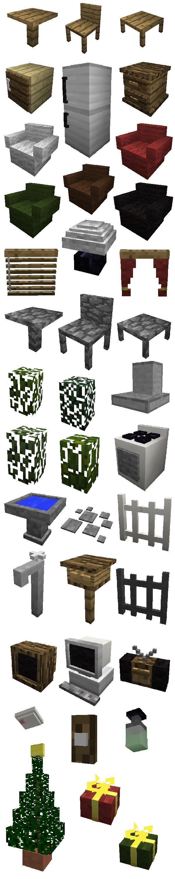 The Minecraft Furniture Mod By Mr Crayfish Presented My Brook Flint