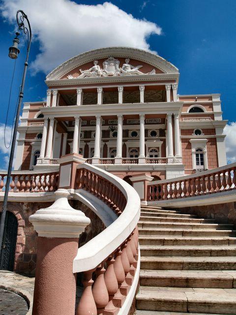 Teatro Amazonas Manaus Brazil