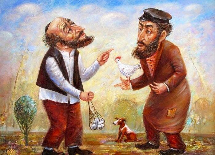 Днем рождения, евреи прикольные рисунки