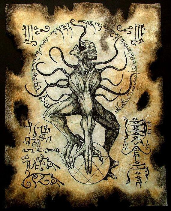 Cthulhu larp NYARLATHOTEP rituels Necronomicon démon occulte