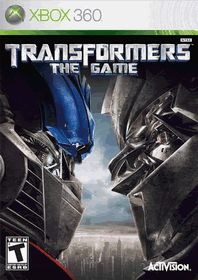 Transformers the Game – Xbox 360  http://gamegearbuzz.com/transformers-the-game-xbox-360/