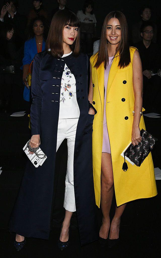 Hikari Mori and Izumi Mori – Esprit Dior Tokyo Pre-Fall 2015