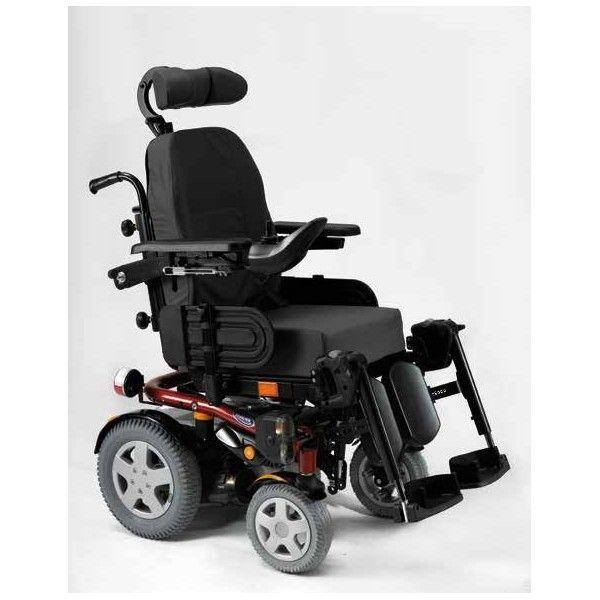 SILLA DE RUEDAS ELÉCTRICA - REF: KITE: La silla Kite es una silla de ruedas eléctrica apta tanto para interior como para exterior ya que es una silla muy compacta y manejable siendo su ancho total inferior a 600mm.