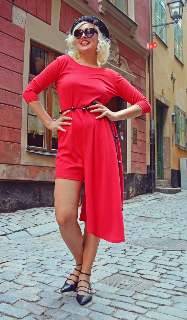 Now selling: Extravagant Red Jumpsuit / Backless Red Jumpsuit / Asymmetrical Funky Jumpsuit / Extravagant Summer Jumpsuit TJ24 https://www.etsy.com/listing/470073445/extravagant-red-jumpsuit-backless-red?utm_campaign=crowdfire&utm_content=crowdfire&utm_medium=social&utm_source=pinterest