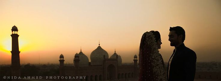 Badshahi mosque is a Mughal era mosque in Lahore and one of our favourite locations to shoot.We happened to photograph a lot of Nikkah ceremonies over there and here are few of our favourite ones.