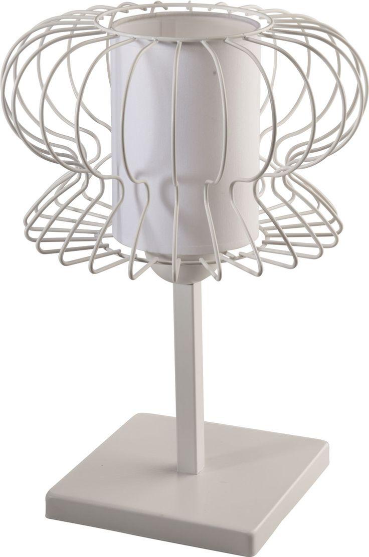 Lampka nocna VALERIA z abażurem w stylu industrialnym dostępna na naszej stronie www. przystojnelampy.pl #czarna #lampka #nocna #lamp #lamps #lampy #oświetlenie #styl #industrialny #industrial
