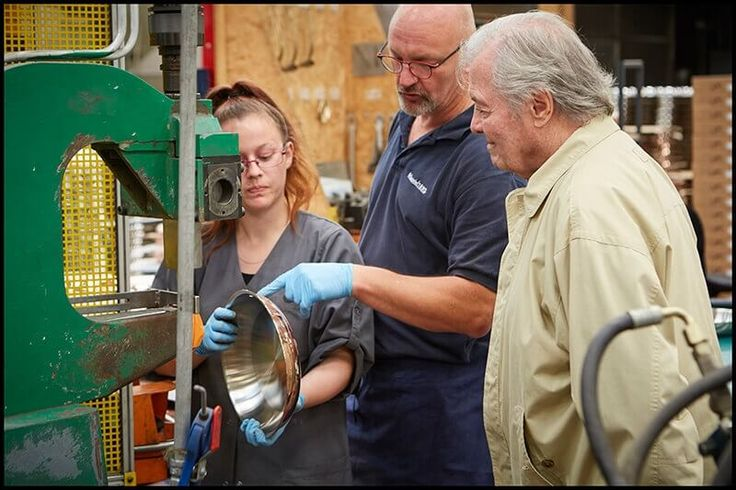 Jacques Pépin Tours the Historic Mauviel Factory in France for his Sur la Table Collection