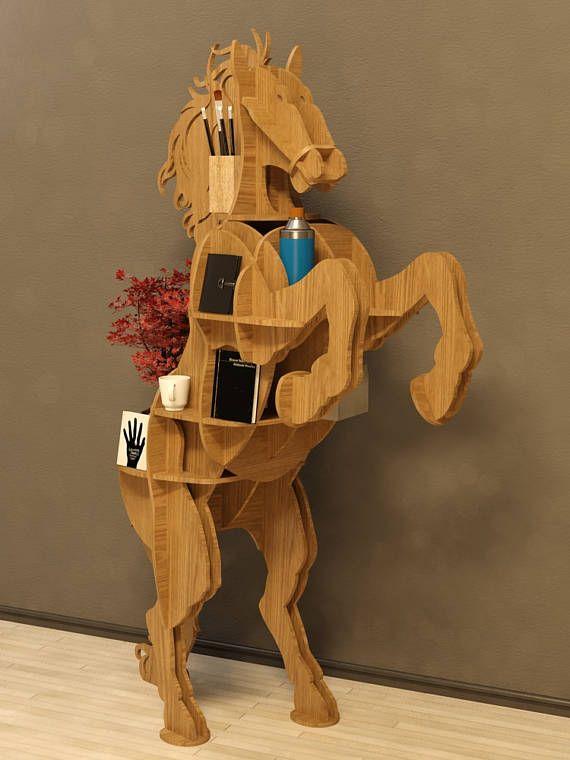 Archivo de vector tabla plan de caballo Dimensiones mm: altura 900, 400 de ancho, longitud 1450. El material es madera contrachapada de 10mm. Asamblea no requiere de ninguna herramienta, ensamblado como un rompecabezas 3d. Materiales utilizados: madera, madera contrachapada Lo que