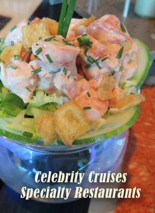 Specialty Dining on Celebrity Cruises