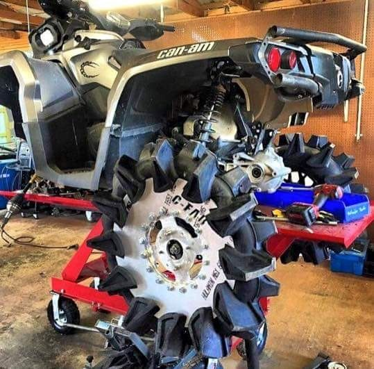 Crushed Juggernauts Land Toys Atv Motorcycle Cars