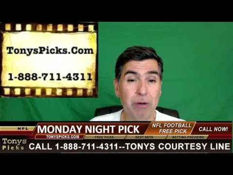 Monday Night Football Picks Predictions Odds NFL Point Spread Previews 1...