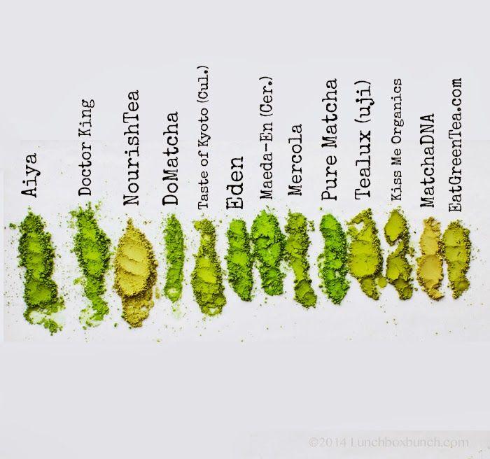 Matcha Green Tea Brand Reviews & Buying Guide: Matcha Madness! American Tea Room, Taste of Kyoto (any variety), Aiya, Dr Mercola, Eden, DoMatcha, Pure Matcha, Maeda-En, Urth Caffe, Matcha Source Kama Matcha, Hibiki-an, O-Cha