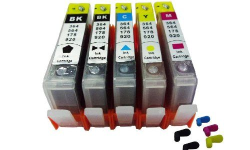 Refillable ink cartridges for HPPhotosmart B8550 C6380 D5463 Pre filled Refillable ink cartridges available from our webstore Non Oem