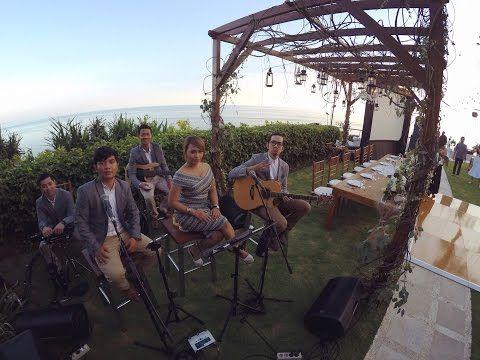 WEDDING BAND BALI - GLO Band Bali at The Edge, Uluwatu - YouTube