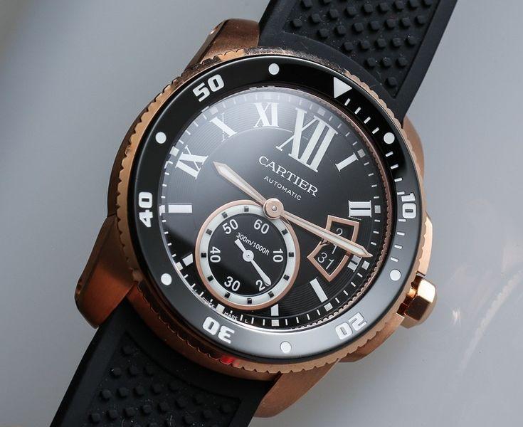 Cartier Calibre Diver Watch Review Wrist Time Reviews