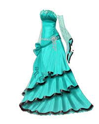 Jordis's third ball gown.