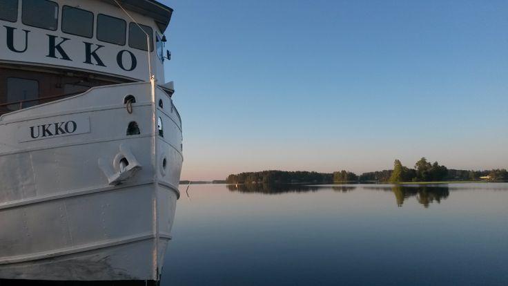 Kreuzfahrt auf dem See Kallavesi in Kuopio
