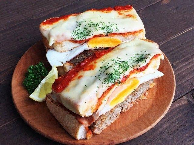 クレイジーサンドって知ってますか? ポルトガル発のハンバーグが入ったサンドイッチだったんです!味は?