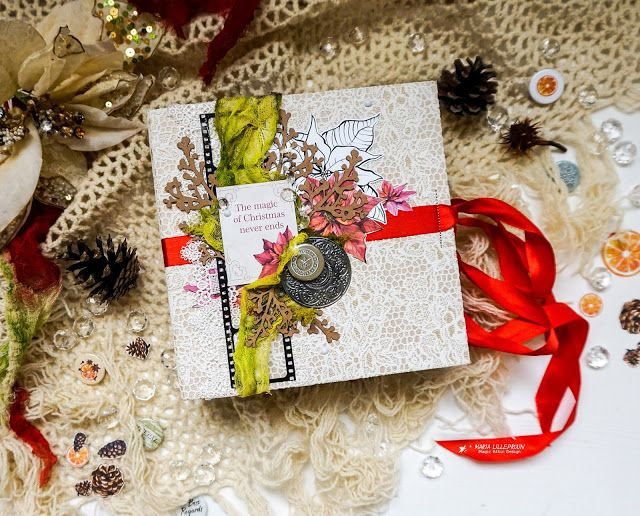 Scraps N Pieces - the Blog: Christmas Album by Maria Lillepruun