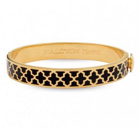 Halcyon Days Agama Black Gold In 2018 Bracelets Bangles Jewelry