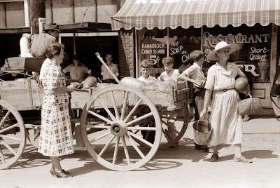 Watermelon Wagon - 1940 in Kentucky