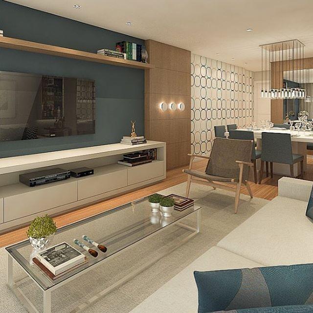 WEBSTA @ bloghomeidea - Ambiente com o toque especial do azul. Amei!Projeto Claudia Horta#bloghomeidea #decor #design #decoração #instaart #inspiração #sala #living #olioliteam #olioli_lifestyle