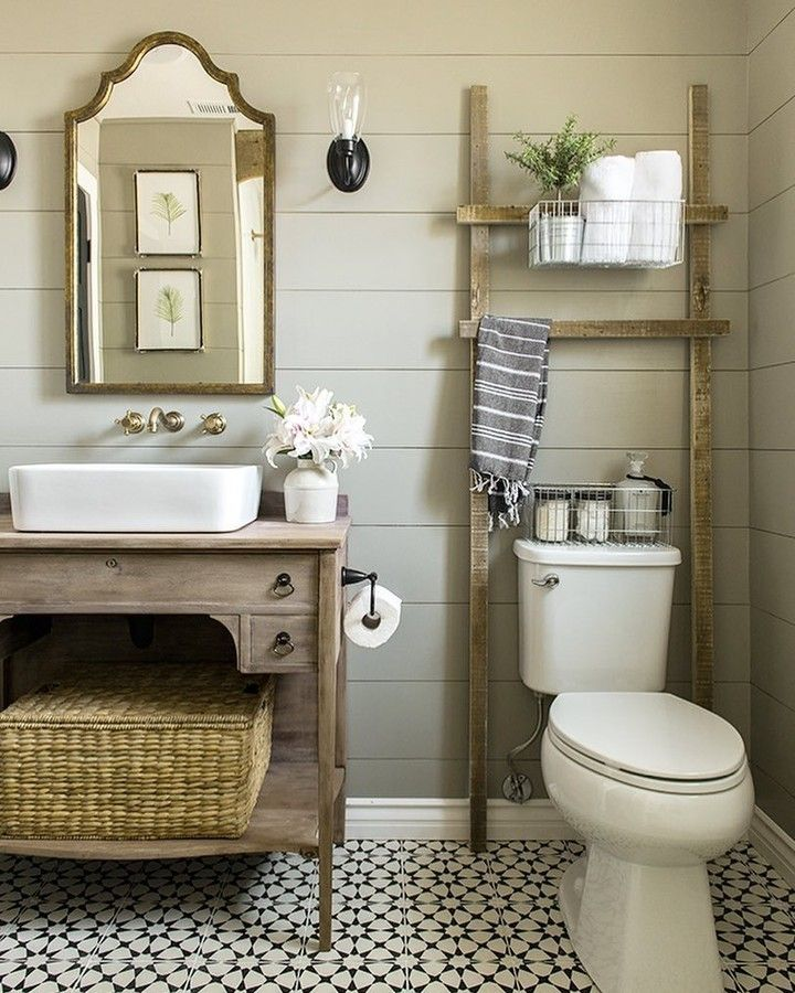 Bathroom Makeover Goals Jennasuedesign Scored The Vanity For Her Guest Bath From Small Bathroom Remodel Bathroom Renovations Beautiful Bathroom Renovations