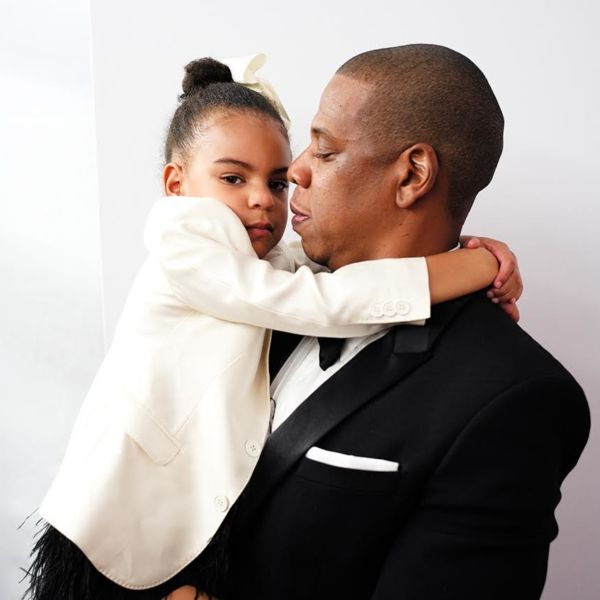 Jay Z and daughter Blue Ivy, who were snapped in one of the most adorable photos of the year.
