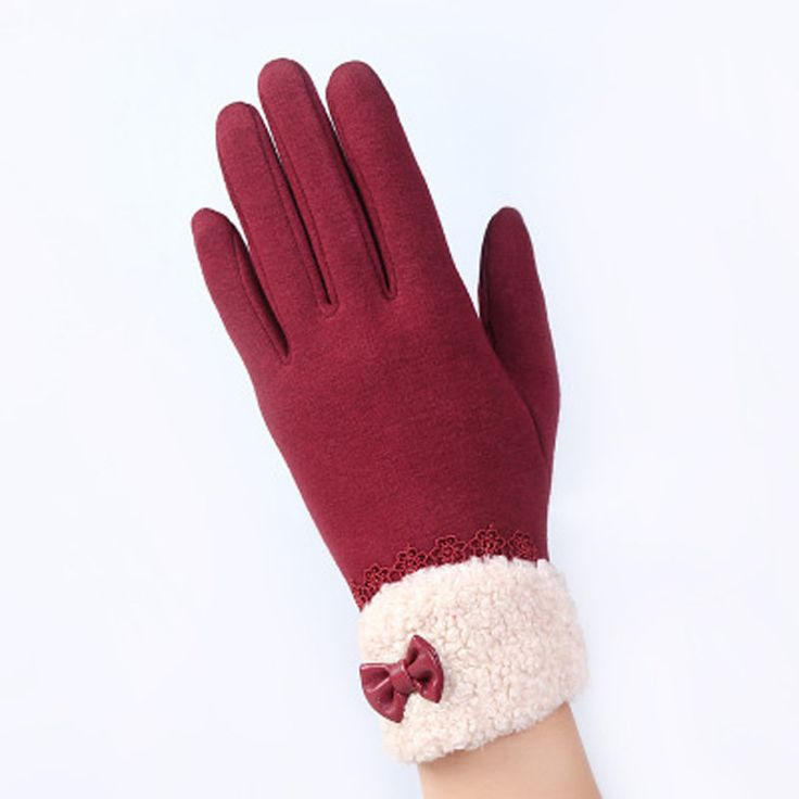 20 Colors!! Women's Winter Fitness Gloves, Use Touch Screen Phones, Wrist Length Mittens Warm Gloves
