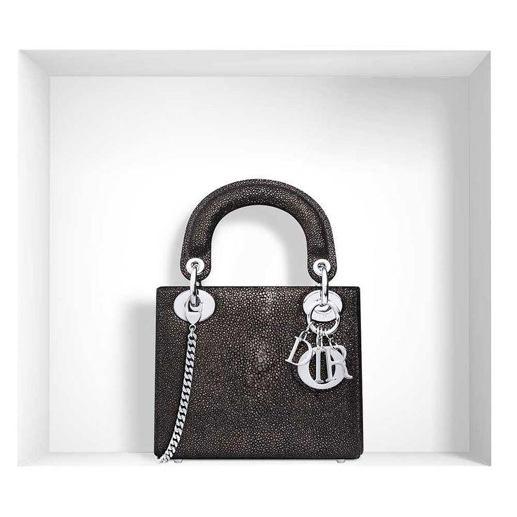 Dior - Lady Dior Mini Çanta Işıltılı Deri - 11 #Dior #Dior-LadyDiorMini #Çanta