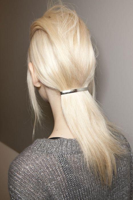 #hair #blond #hairclip