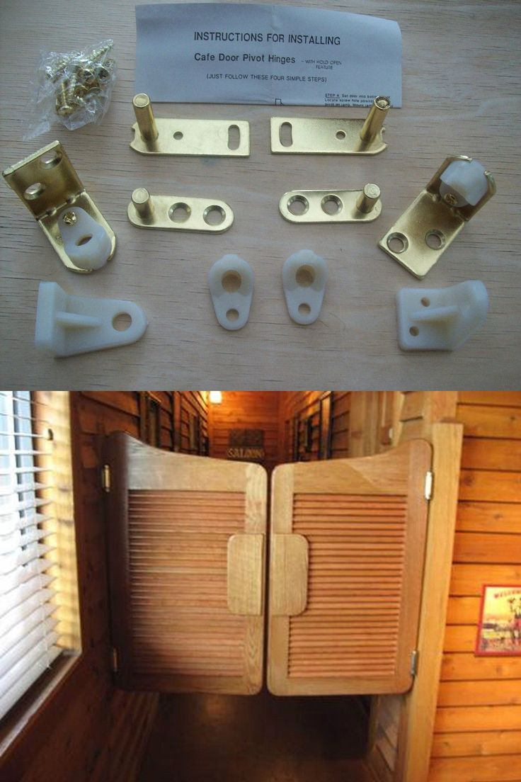 Saloon swing door hinge 2