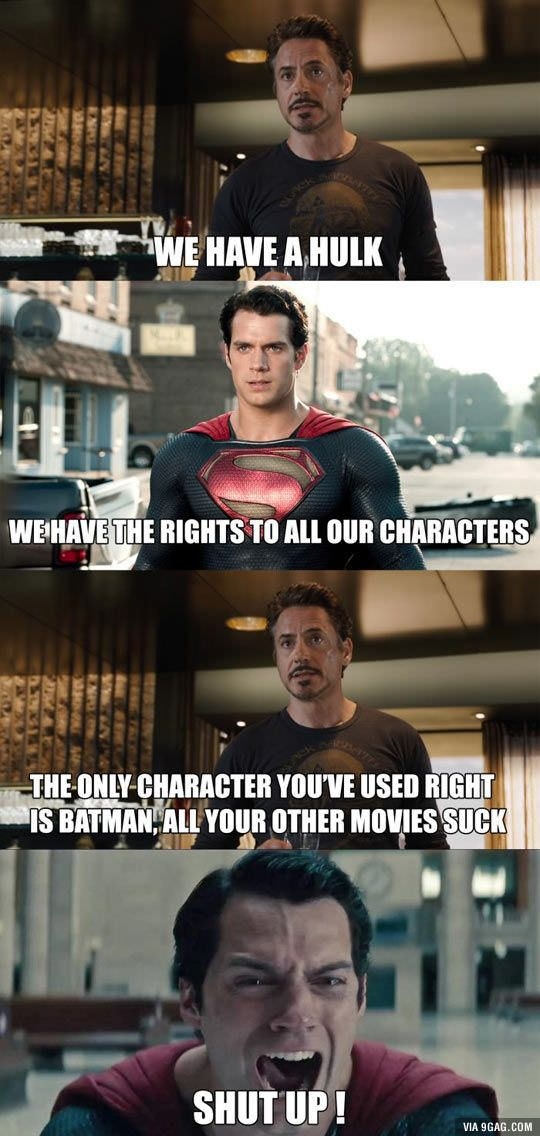 DC vs Marvel. - 9GAG