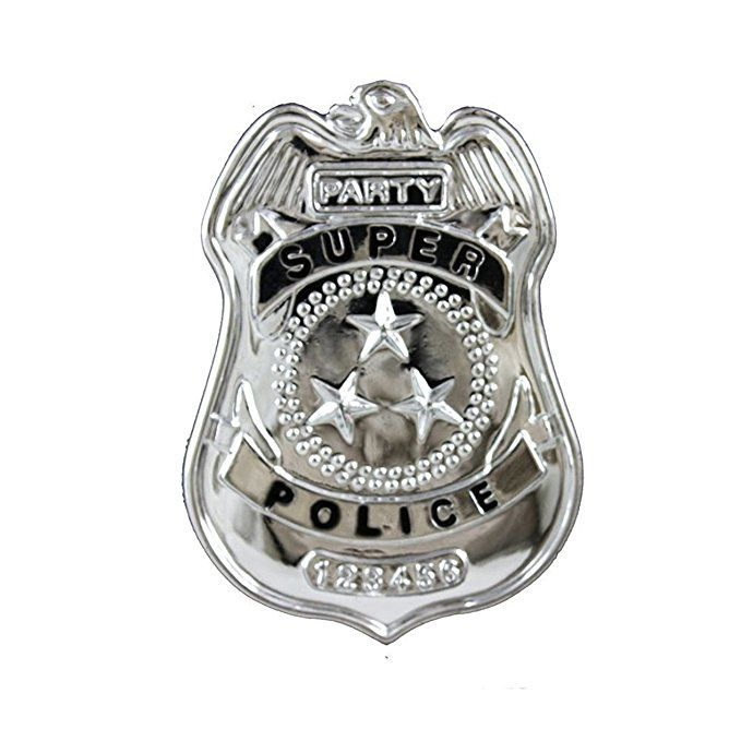 Police Badge Small Accessory Police Accessories Forum Novelties Small Accessories
