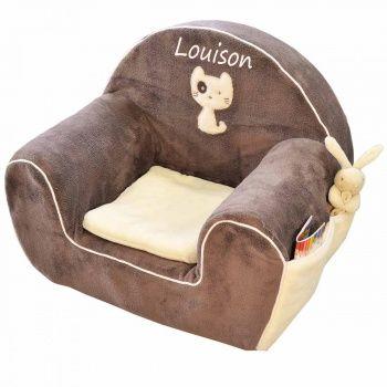 fauteuil club enfant mango marron personnalis fauteuil club fauteuils et personnalis. Black Bedroom Furniture Sets. Home Design Ideas