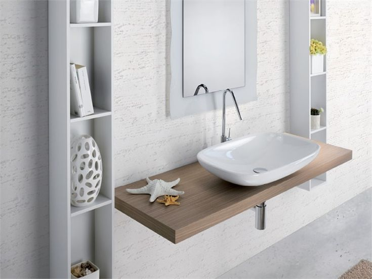 Single washbasin top METROPOLIS 3 Metropolis Collection by LASA IDEA | design Enio Calosi