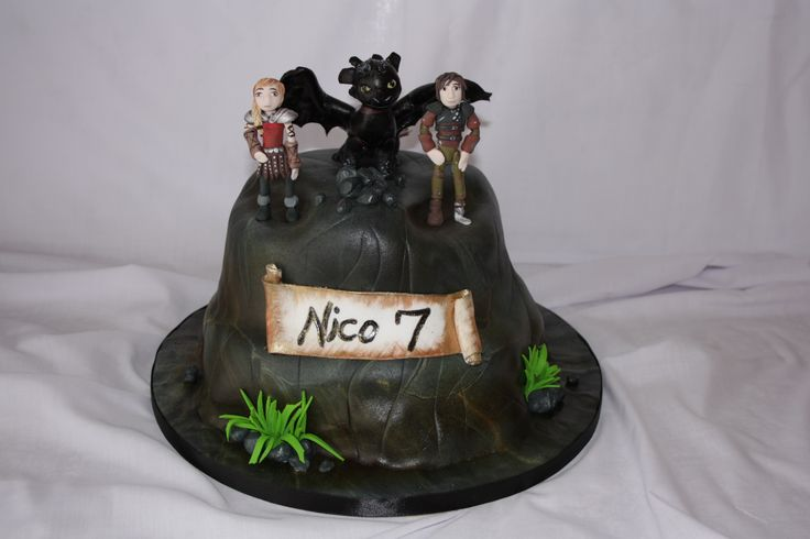How to train your dragon cake - www.suikerbekkie.co.za