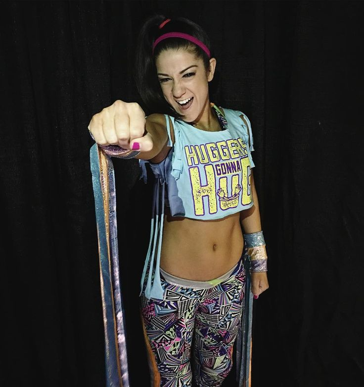 """90.7k Likes, 341 Comments - WWE (@wwe) on Instagram: """"@itsmebayley is ready to give the #WWEMobile fans all the hugs they can handle, but she's focused…"""""""