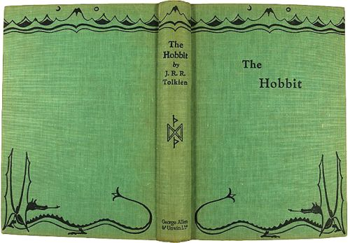 The Hobbit Old Book Cover ~ Best images about vintage book covers on