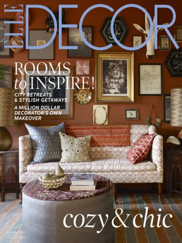 Elle Decor Magazine iPad Screenshot 1 found on AnyKey.Com