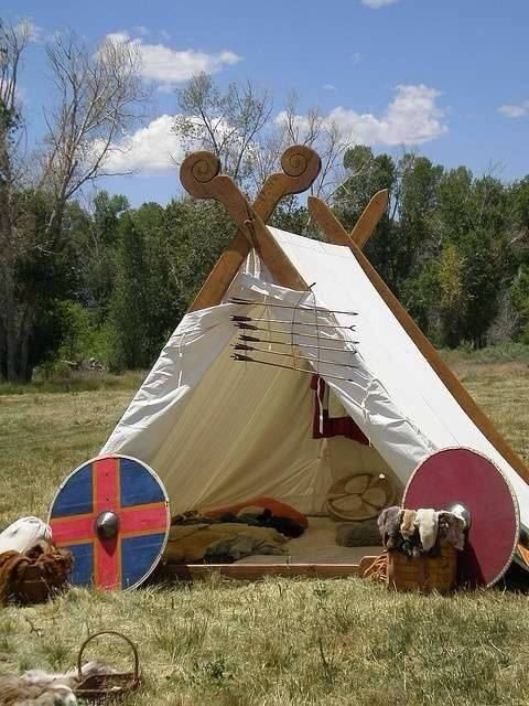different tent style & 253 best Viking houses u0026 tents images on Pinterest | Tents ...