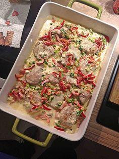 Schweinefilet mit Schafskäse überbacken, ein gutes Rezept aus der Kategorie Schwein. Bewertungen: 11. Durchschnitt: Ø 3,9.
