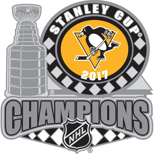 Pittsburgh Penguins 2017 Stanley Cup Champions Trophy Pin