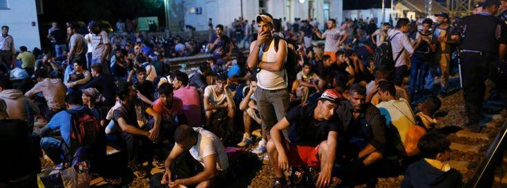 Tovarnik, Kroatien: Flüchtlinge sitzen fest
