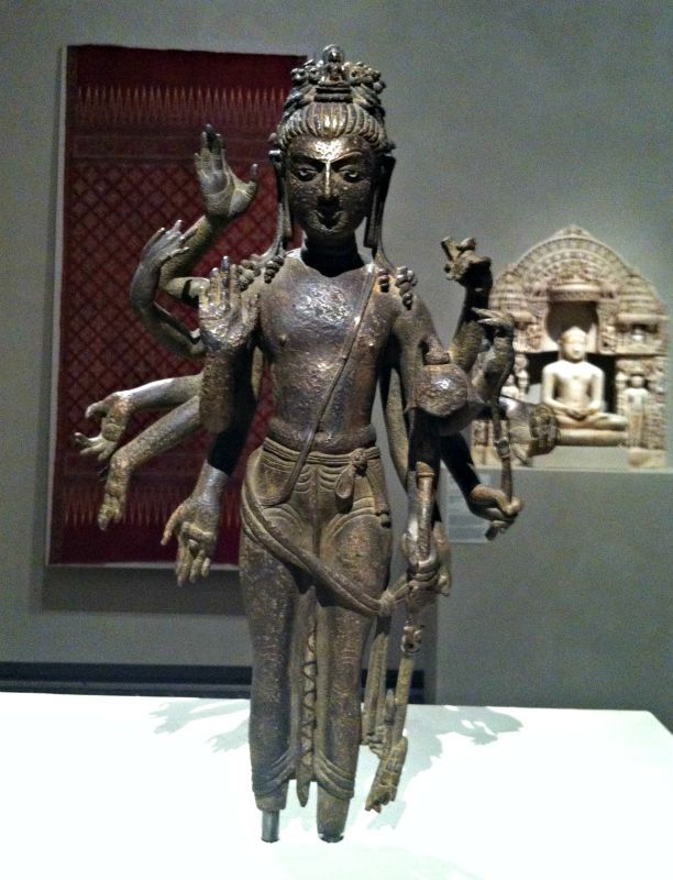 _/\_ Bodhisattva Avalokiteshvara _/\_  [escultura em bronze procedente do noroeste da India - c. 700)