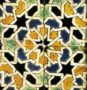 Azulejo cuerda seca - Sevilla
