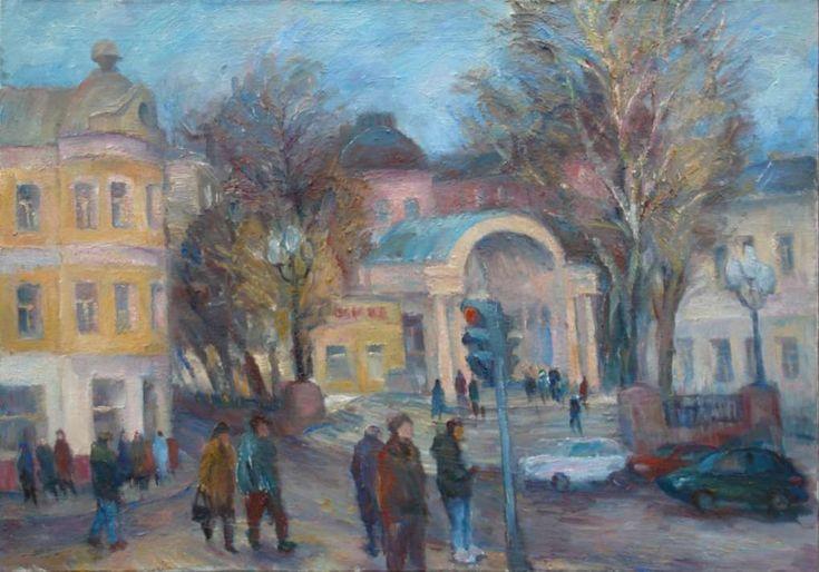 Кропоткинская. 2013. Х.м. 70х100